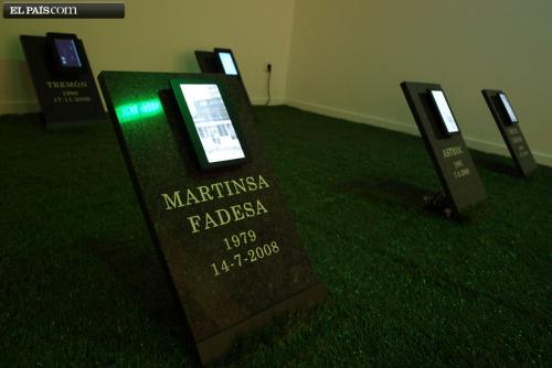 Lápida FADESA