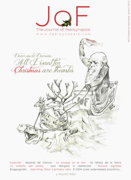 Darwin llega a casa por Navidad.